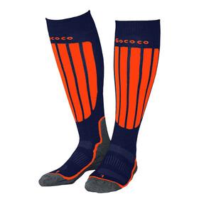 Gococo Compression Skiing Socks Navy/Orange
